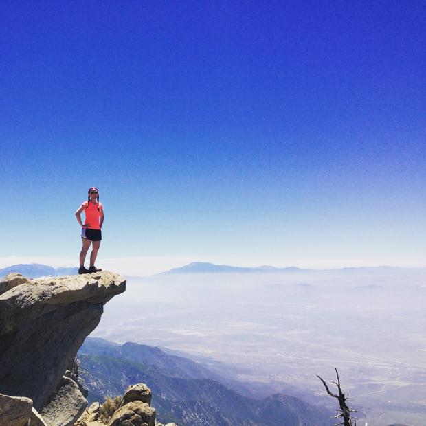 Cucamonga Peak Hike, California   Sarah McDonald
