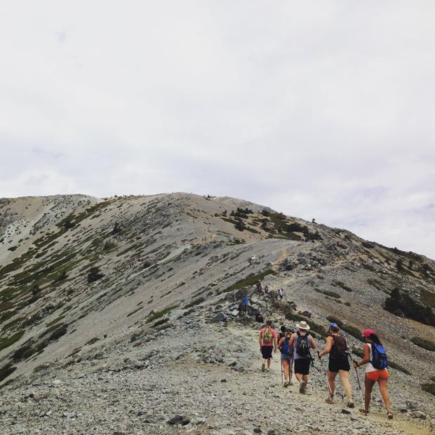 Mt. Baldy Hike, California   Sarah McDonald