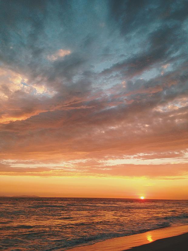 Sunset at Huntington Beach, California | Sarah McDonald