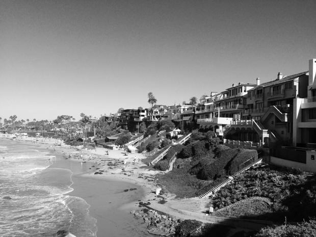 Corona del Mar Beach, California   Sarah McDonald